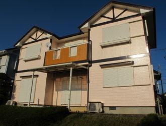 石岡市 H様邸 外壁塗装工事