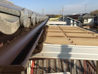 茨城県 戸建 雨樋工事