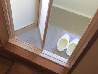 S様邸 浴室サッシ交換